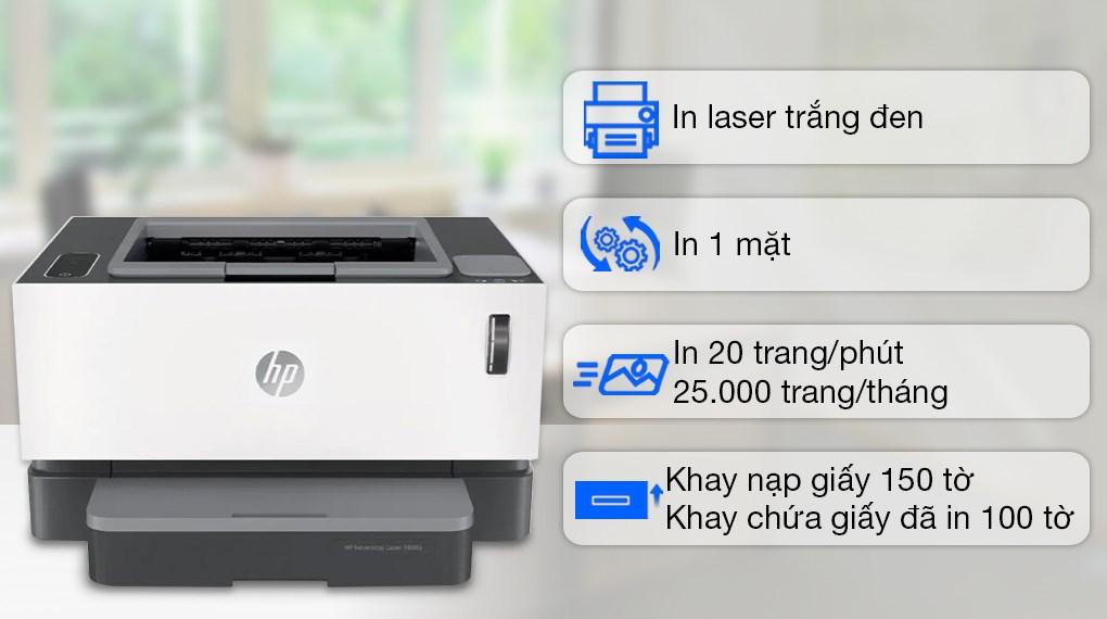 Máy in Laser đơn năng HP Neverstop 1000a (4RY22A)