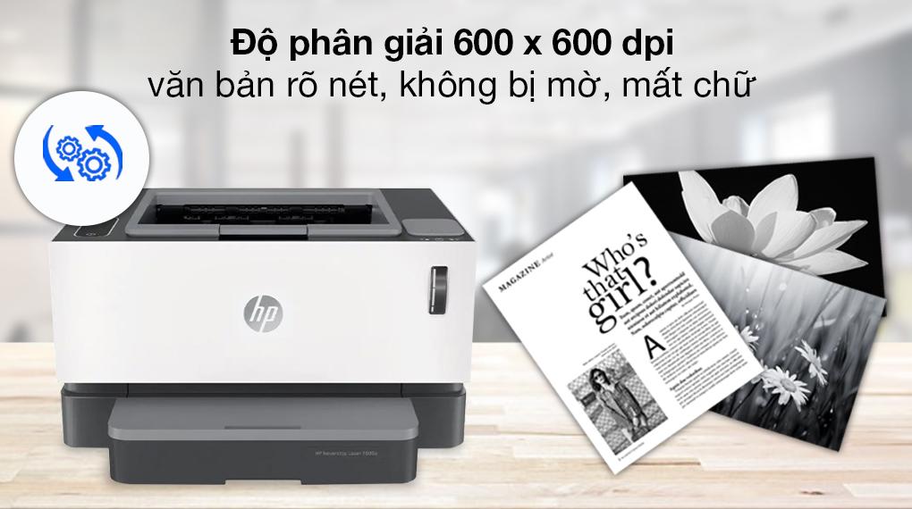 Máy in Laser đơn năng HP Neverstop 1000a (4RY22A) - Độ phân giải