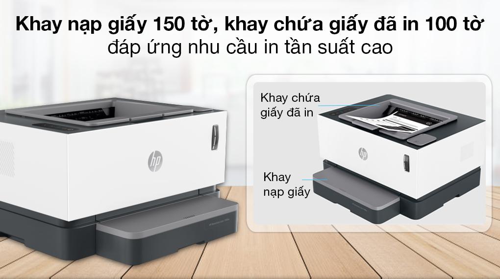 Máy in Laser đơn năng HP Neverstop 1000a (4RY22A) - Khay nạp giấy