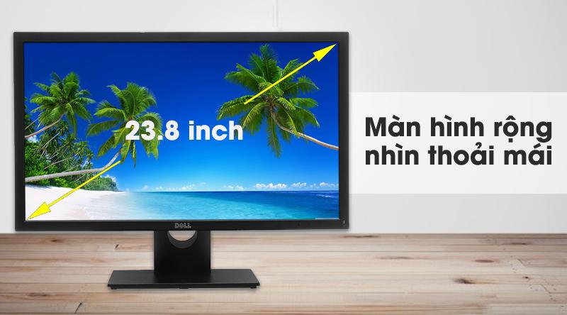 Màn hình LCD Dell rộng rãi