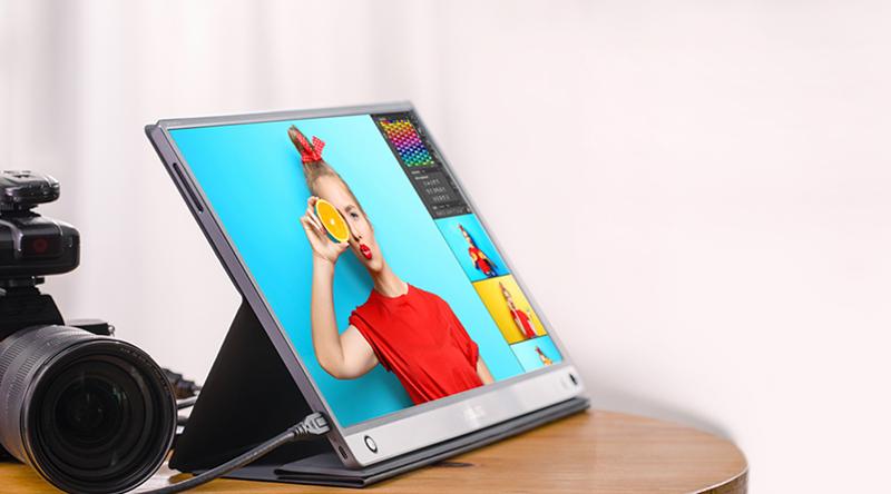 Asus ZenScreen GO 15.6 inch Full HD 5ms (MB16AHP)-Vỏ gập thông minh