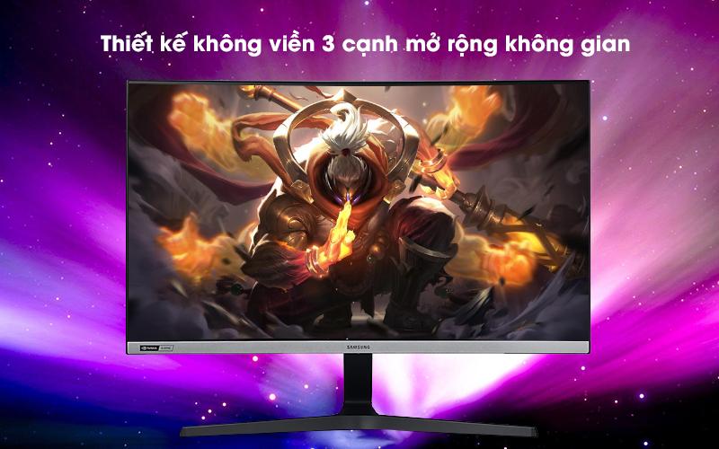 Màn hình máy tính LCD Samsung Gaming 27 inch (LC27RG50FQEXXV) - Thiết kế