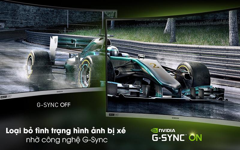 Màn hình máy tính LCD Samsung Gaming 27 inch (LC27RG50FQEXXV) - G-Sync