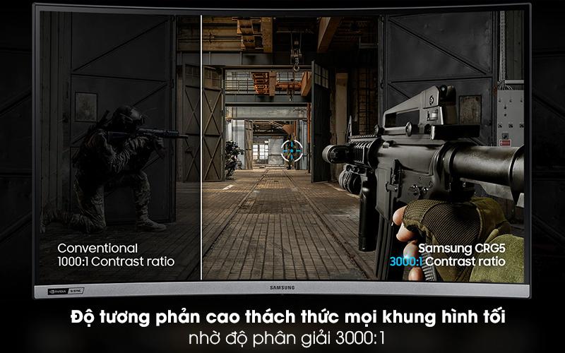 Màn hình máy tính LCD Samsung Gaming 27 inch (LC27RG50FQEXXV) - Độ phân giải