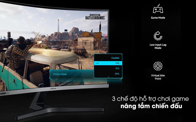 Màn hình máy tính LCD Samsung Gaming 27 inch (LC27RG50FQEXXV) - 3 chế độ