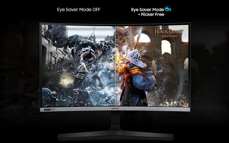 Màn hình máy tính LCD Samsung Gaming 27 inch (LC27RG50FQEXXV) - Eye Saver Mode