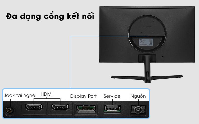 LCD Samsung Gaming 27 inch Full HD - Kết nối