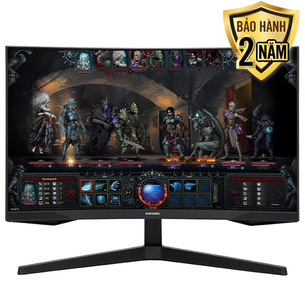 "Samsung LCD Gaming 27 inch WQHD 1ms 144Hz/HDR10 (LC27G55TQWEXXV) 27"""