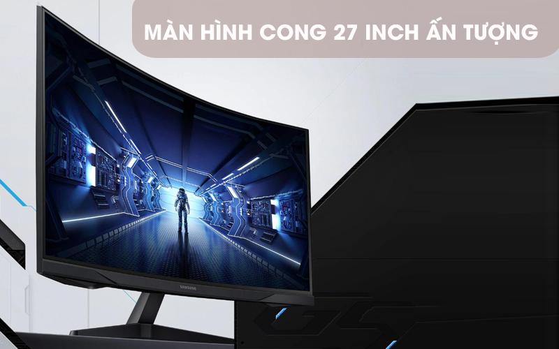 LCD Samsung Gaming 27 inch WQHD 144Hz 1ms (LC27G55TQWEXXV)