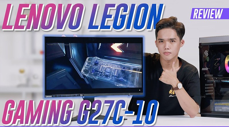 Lenovo LCD Legion Gaming G27c-10 27 inch Full HD 165Hz 1ms (66A3GACBVN)