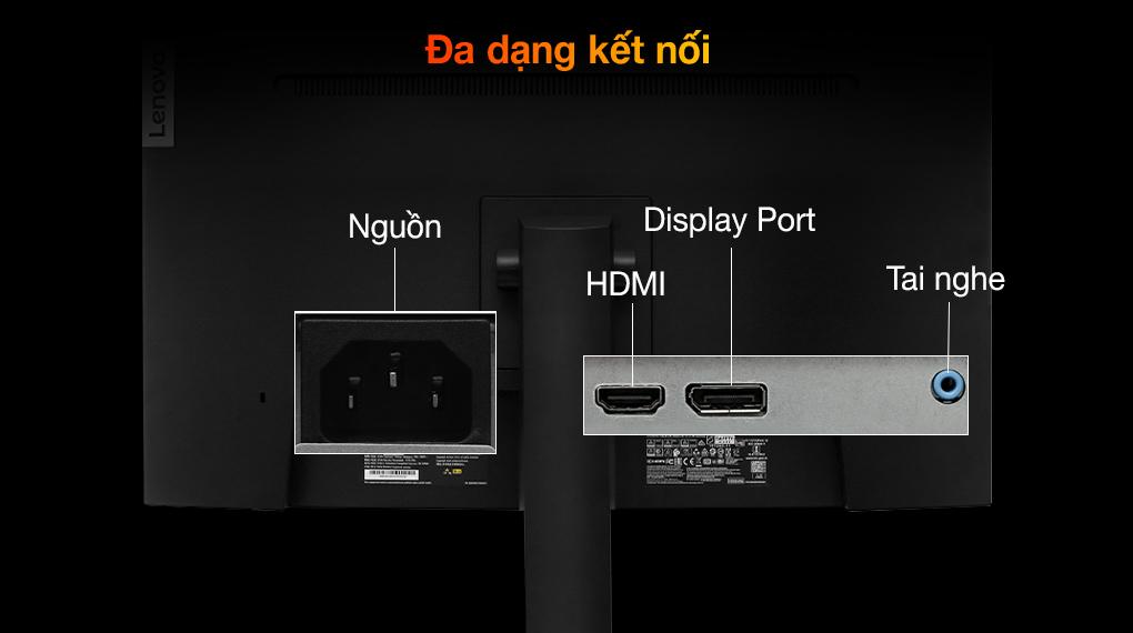 Lenovo LCD Legion Gaming G27c-10 27 inch Full HD 165Hz 1ms (66A3GACBVN) - Cổng kết nối