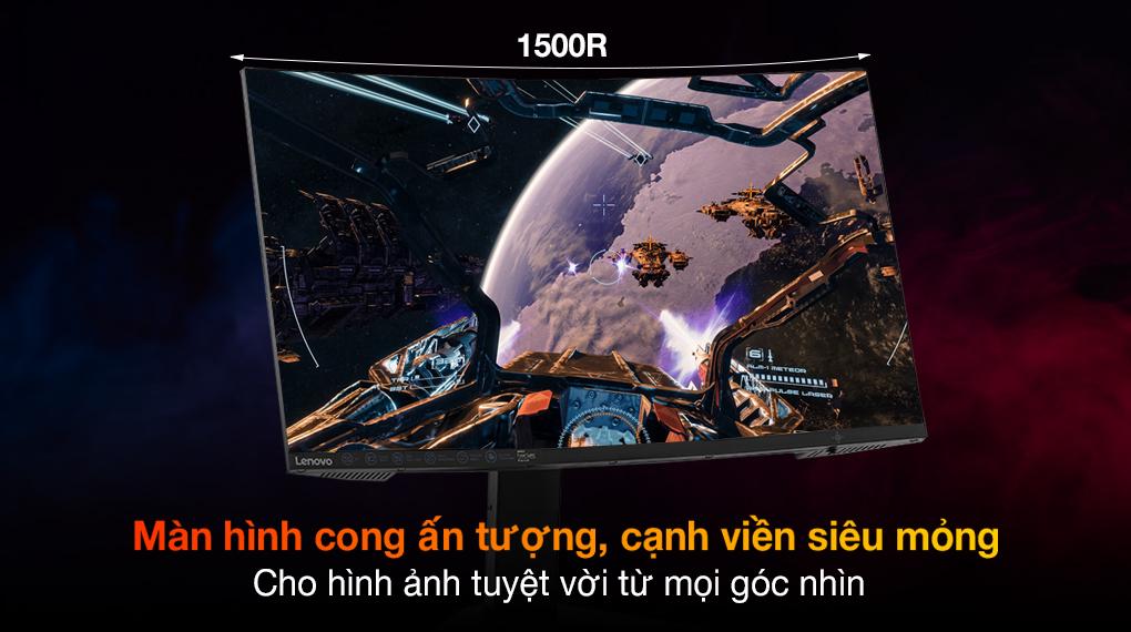 Lenovo LCD Legion Gaming G27c-10 27 inch Full HD 165Hz 1ms (66A3GACBVN) - Màn hình cong