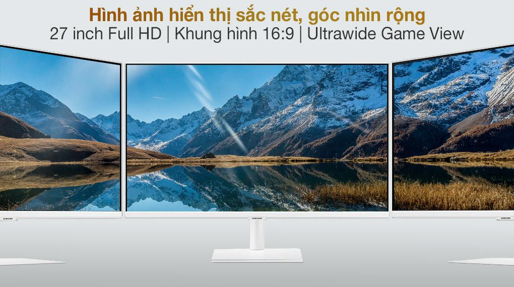 Samsung Smart Monitor M5 27 inch (LS27AM501NEXXV) - Hình ảnh