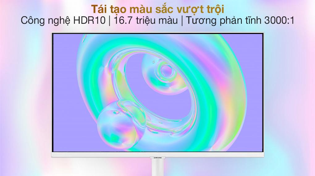Samsung Smart Monitor M5 27 inch (LS27AM501NEXXV) - Tái tạo màu