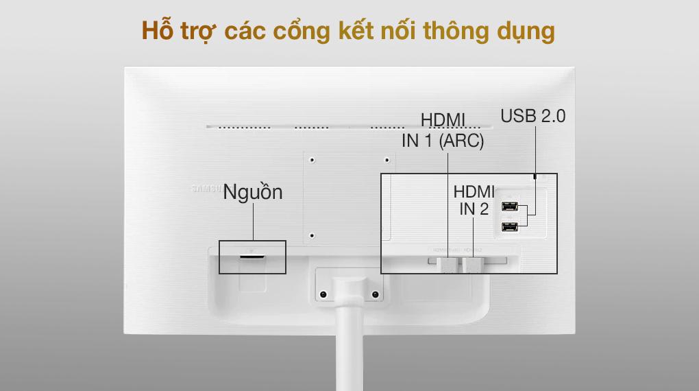 Samsung Smart Monitor M5 27 inch (LS27AM501NEXXV) - Cổng kết nối
