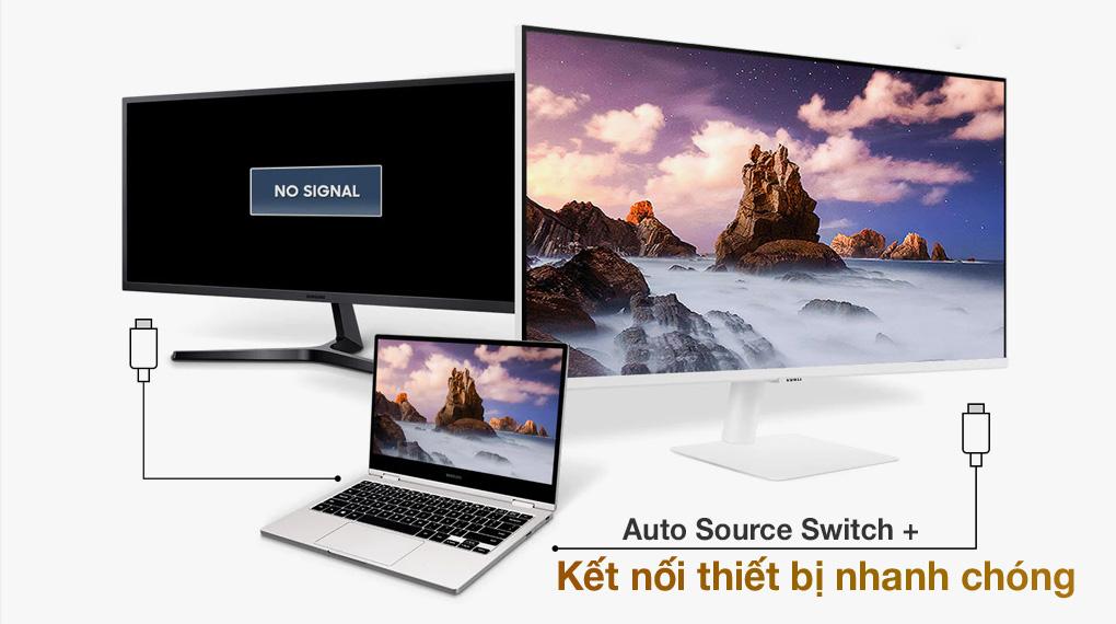 Samsung Smart Monitor M5 27 inch (LS27AM501NEXXV) - Kết nối