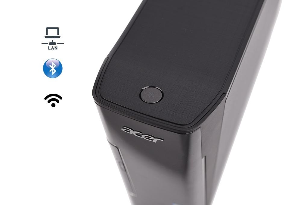 Hỗ trợ kết nối không dây dễ dàng - Máy tính bộ Acer AXC-780 i5-7400 (DT.B8ASV.004)