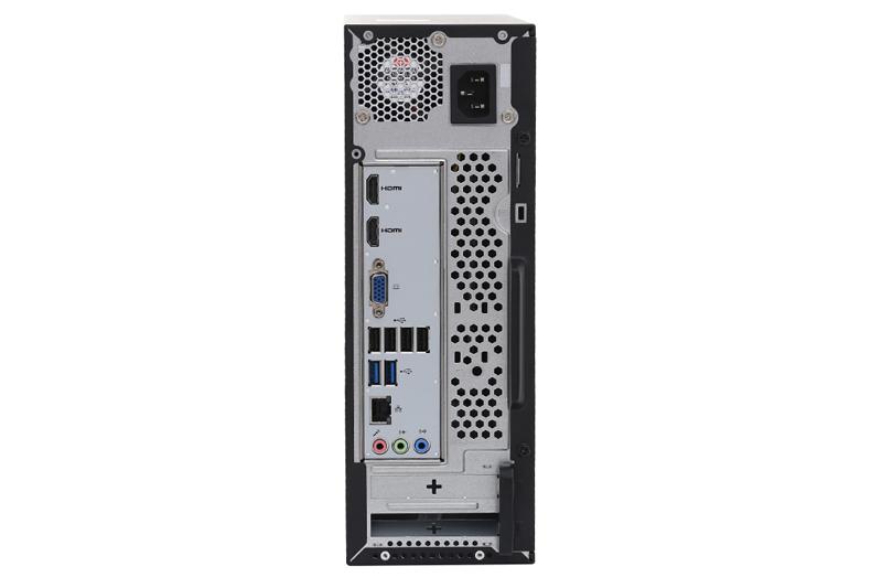 Các cổng kết nối Acer Aspire XC-885 DT.BAQSV.010
