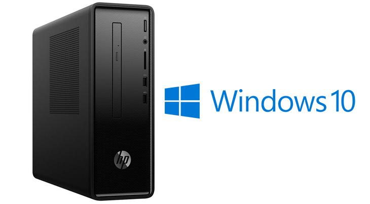 Có sẵn Windows bản quyền - Máy tính bộ HP 290-p0027d i5 8400/4GB/1TB/2G Radeon 520/Win10 (4LY09AA)