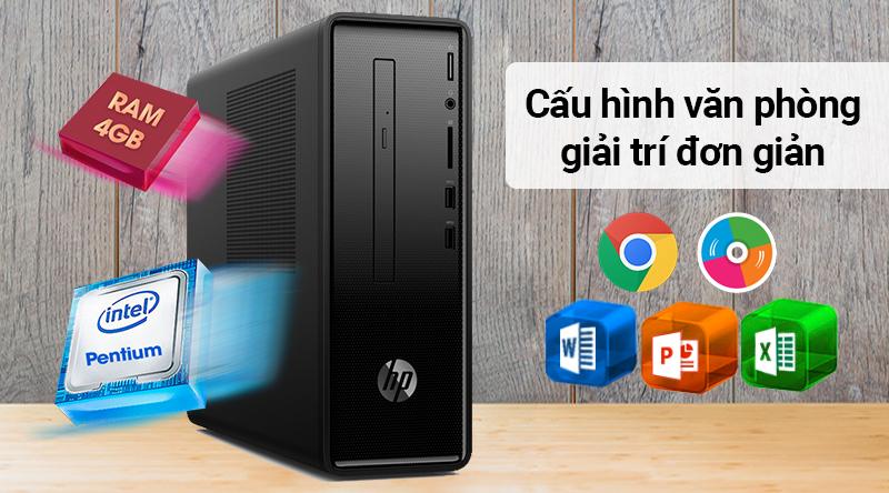 HP Slimline 290-p0112d G5420 xử lý các ứng dụng văn phòng