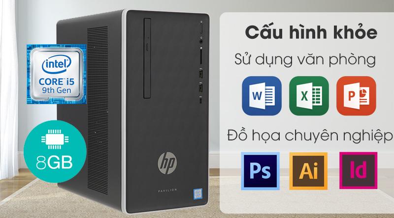 Cấu hình máy tính để bàn HP Pavilion 590 p0111d i5 (6DV44AA)