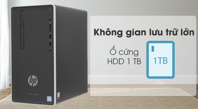 Máy tính để bàn HP Pavilion 590 p0111d i5 (6DV44AA) có ổ cứng HDD
