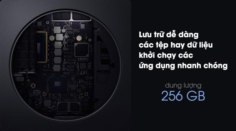 Mac mini có ổ cứng SSD 256 GB