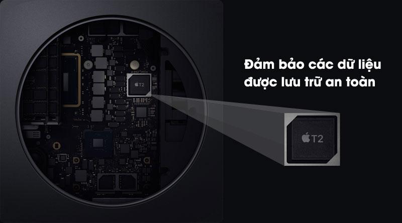 Mac mini được trang bị chip bảo mật Apple T2