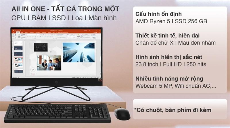 HP 205 Pro G4 AIO R5 4500U/8GB/256GB/23.8 inch (31Y21PA)