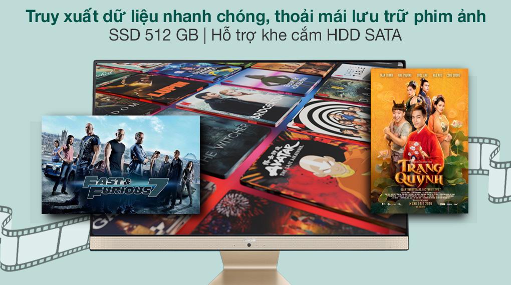 Asus Vivo AIO V222FAK i5 10210U/8GB/512GB (BA220T) - SSD