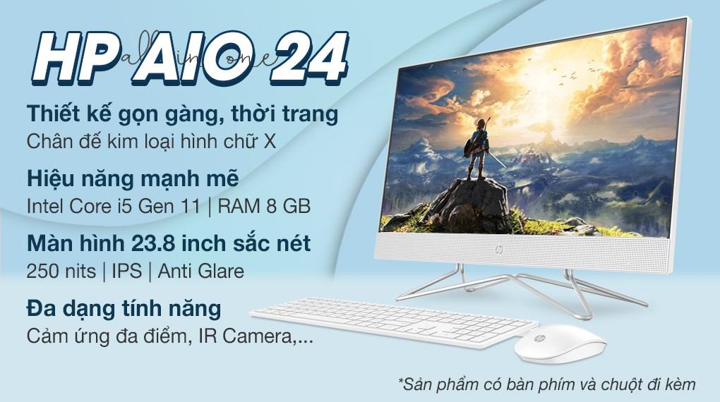 HP AIO 24 df1028d i5 1135G7 23.8 inch Touch (4B6E1PA)