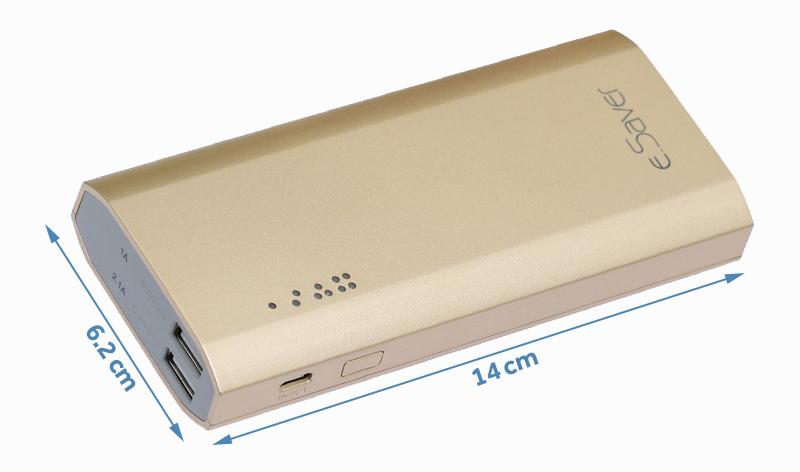 Pin sạc dự phòng 10000mAh eSaver LA Y325S