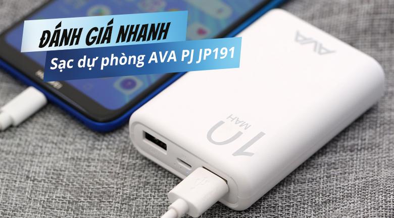 AVA PJ JP191