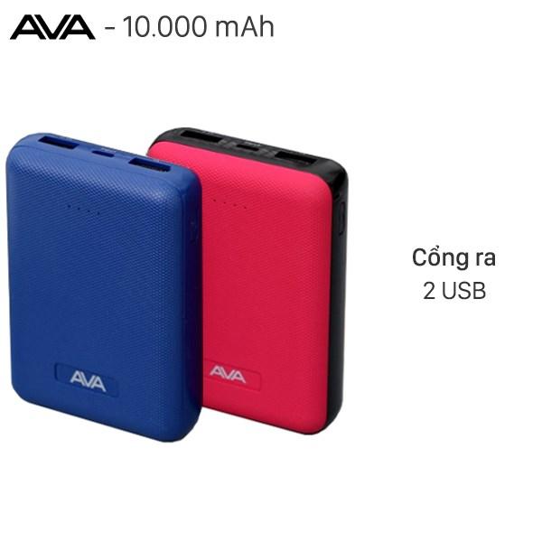Pin sạc dự phòng Polymer 10.000 mAh AVA PA W11