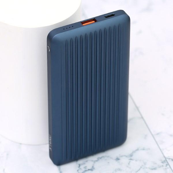 Pin sạc dự phòng Polymer 10.000mAh Type C PD QC3.0 iWALK UBC10000PS Xanh