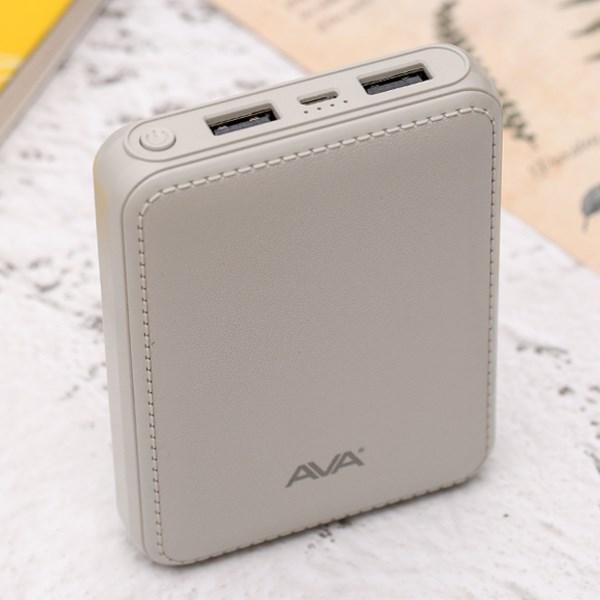 Pin sạc dự phòng 10.000mAh AVA DS008-WB Xám
