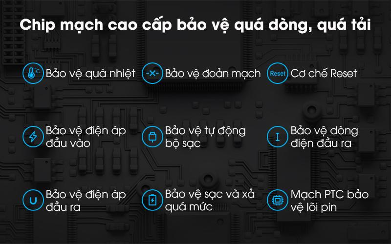 Polymer 10.000mAh Xiaomi Redmi Type C VXN4286GL - Chip mạch cao cấp