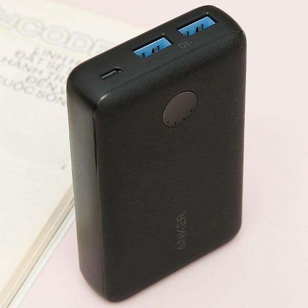 Pin sạc dự phòng 10.000mAh Anker PowerCore Select A1223 Đen