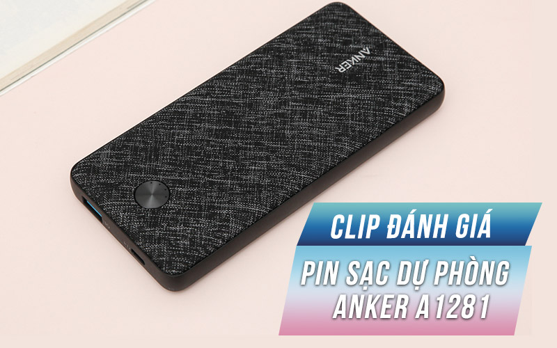 Anker PowerCore Essential A1281 Fabric