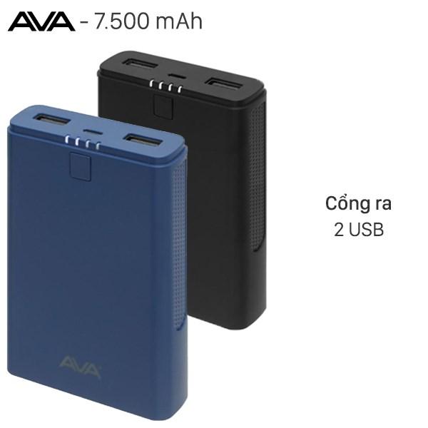 Pin sạc dự phòng 7500mAh AVA DS630