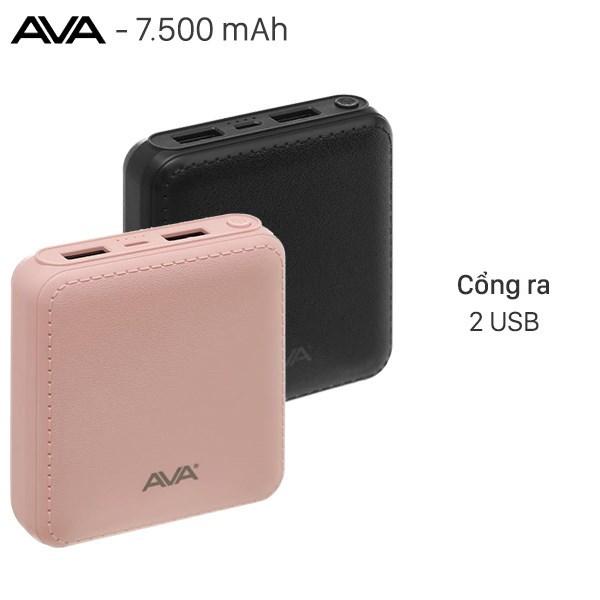 Pin sạc dự phòng 7500mAh AVA DS004