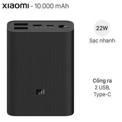 Xiaomi Power Bank 3 Ultra Compact