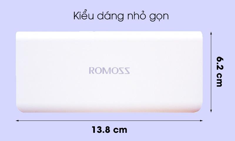 Pin sạc dự phòng 10000mah romoss Solo 5 - Kiểu dáng nhỏ gọn