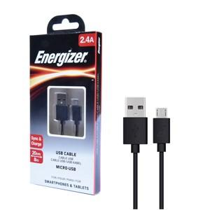 Cáp micro USB 20 cm Energizer C12UBMCBBK4 màu đen