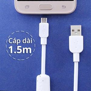 Dây cáp Micro USB 1.5 m Sony CP-AB150 Dây Cao su