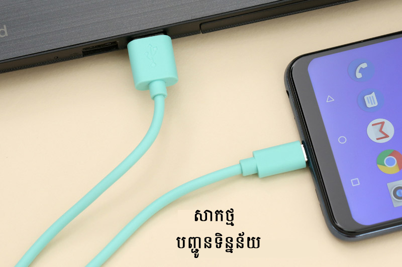 ខ្សែសាក Micro 1m AVA LTPL-05