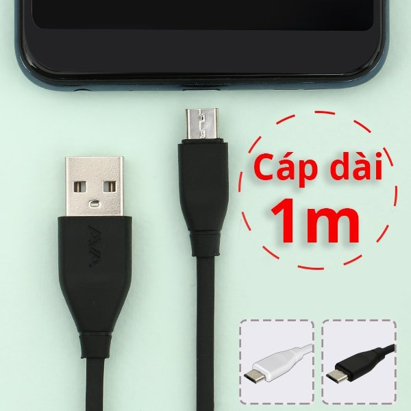 Cáp Micro 1m AVA Speed II