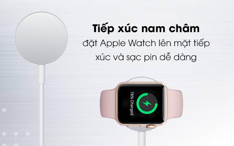 Adapter sạc Apple Watch Magnetic Type-C 30 cm Apple MU9K2 Trắng sạc pin dễ dàng hơn