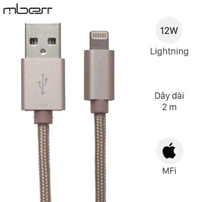 Cáp Lightning Mbest DS287-WB