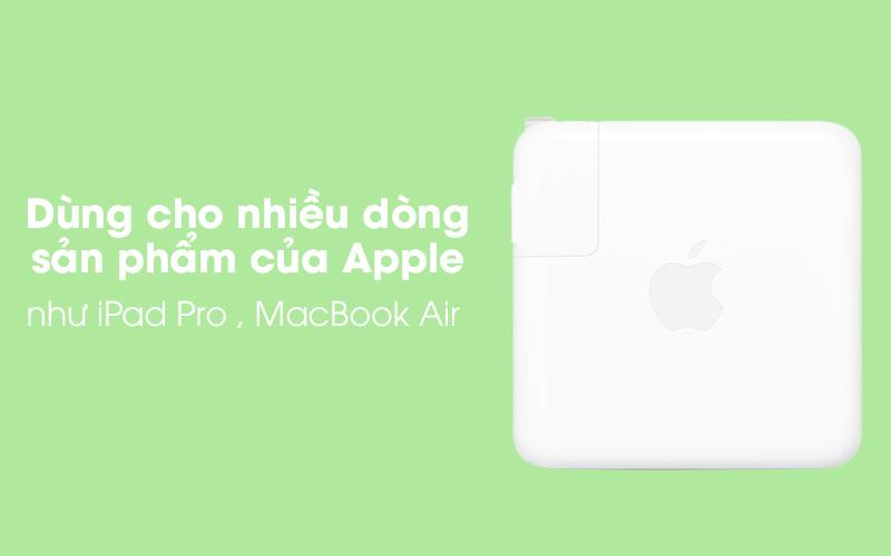 Adapter Sạc Type-C 61W dùng cho iPad/MacBook Apple MRW22 Trắng tương thích với các sản phẩm của Apple